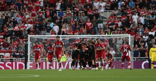 Boro's season can't find its take-off as they miss another chance