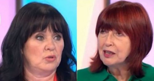 Loose Women's Coleen and Janet go head-to-head over Strictly jabs
