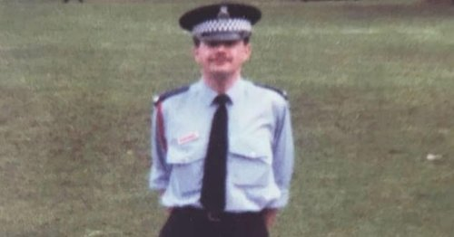 Widow of murdered police officer pays tribute to the man behind the uniform