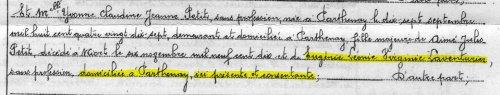 Eugénie Laventurier, un mystère résolu | Chroniques d'antan et d'ailleurs