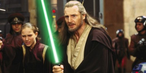 Star Wars' Liam Neeson Reveals What Qui-Gon Jinn's Force Ghost Would Say To Ewan McGregor's Obi-Wan