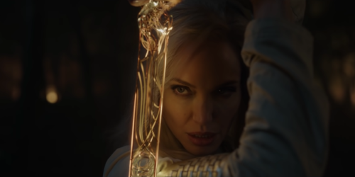 Marvel Fans Are Obsessed With Angelina Jolie's Badass Moment In First Eternals Footage