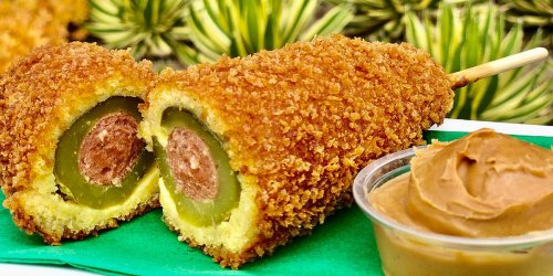 It's Official: There's A Grosser Pickle Delicacy Out There Than Disneyland's Peanut Butter Monstrosity