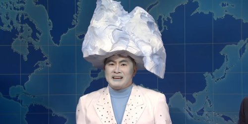 SNL's Bowen Yang Reveals His Already Iconic Titanic Iceberg Sketch Almost Never Happened