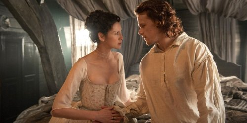 Sam Heughan And Caitriona Balfe Have Seen Your Outlander Fan Art, Have Some Funny Thoughts