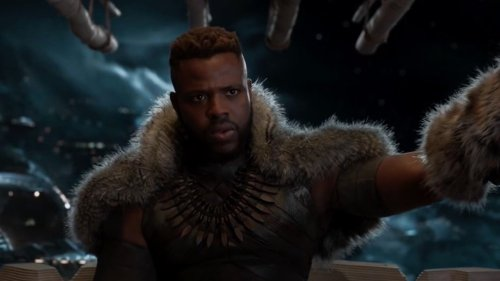 Black Panther 2's Winston Duke Debuts Ripped Back And We Should Probably Go Ahead And Nickname Him M'Backu