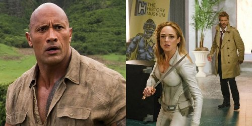 The Totally Fitting Way Legends Of Tomorrow Is Referencing The Rock In Season 6