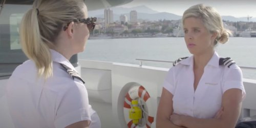 Below Deck's Bugsy Drake Weighs In On Major Insult From Captain Sandy In Feud With Hannah Ferrier