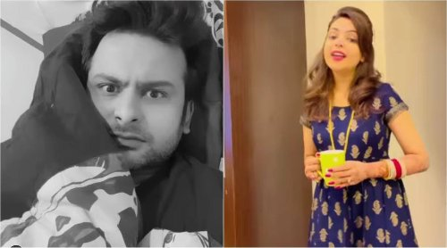 Sugandha Mishra Comes in her caring wife avatar, Check Video