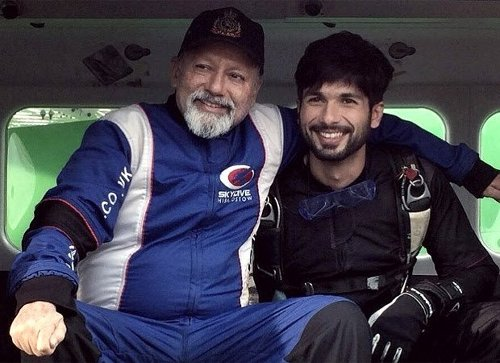 Happy Birthday Pankaj Kapur: On his father's 67th birthday, Shahid Kapoor shares an adorable picture with Pankaj Kapur