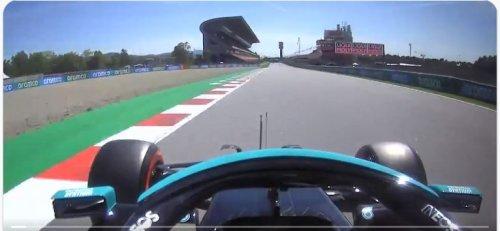 F1, A bordo con Hamilton per il giro della pole position numero 100 [ VIDEO ]