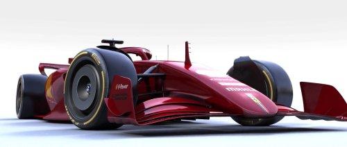 Come sarà la nuova Ferrari F1 2022 ad effetto suolo [ VIDEO ]