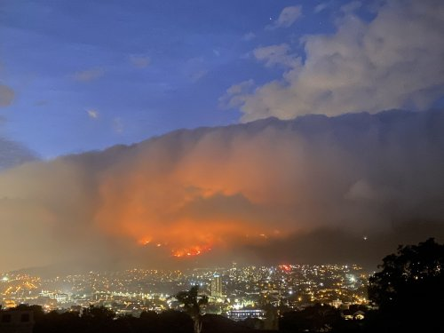 How climate change helped fuel Cape Town fires