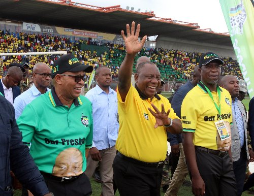 Ramaphosa on winning streak as RET faction wanes
