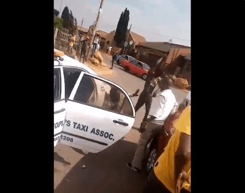One arrested, another sought for sjambokking of Uber driver