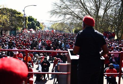 Ramaphosa's 'lockdown nonsense regulations won't stop us' – Malema
