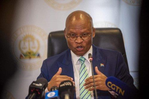 Mogoeng's office dismisses SA unrest WhatsApp voice note