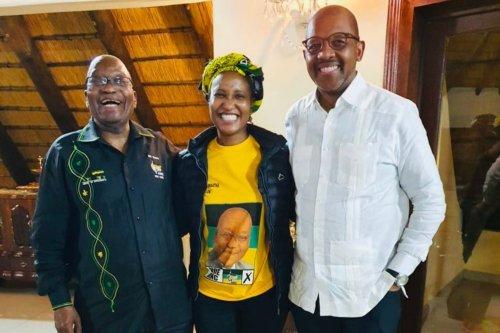 Dudu Zuma takes Twitter swipe at ANC leadership by renaming party