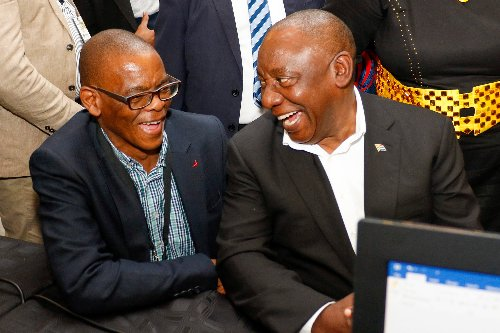 Ramaphosa, Magashule face off in Limpopo