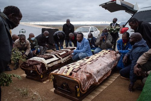'You died for your land'- murdered Coka brothers laid to rest | The Citizen