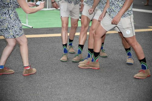 How 'Voortrekker' shoes became the talking point of the opening ceremony for Team SA