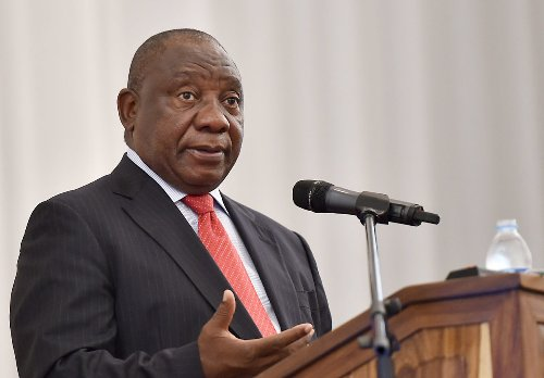 Get off your butt and take responsibility, Ramaphosa tells SA youths