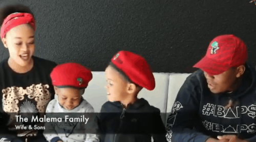 WATCH: Malema's sons steal hearts with EFF birthday message