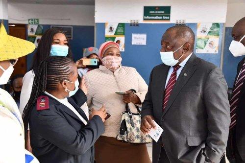 SA 'heads for population immunity'