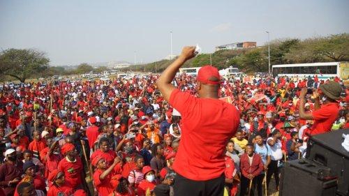 Malema to 'respond accordingly' to Phoenix 'attacks'