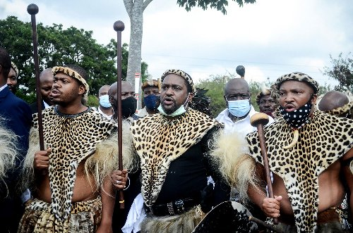 Zulu king explains public reading of late queen's will