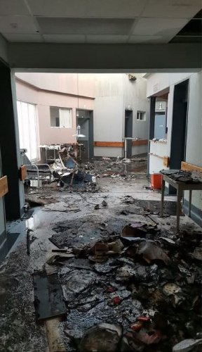 Another Cape Town fire destroys ward at hospital | The Citizen