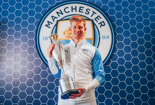 PFA Awards 2021: Kevin De Bruyne retains Players' Player of the Year