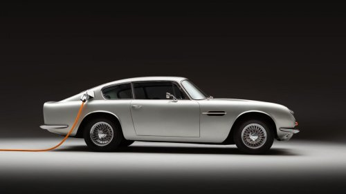 You only live twice: classic Aston Martins reborn as electric cars