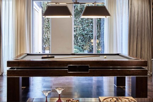 Design your own luxury pool, snooker or dual-purpose dining table