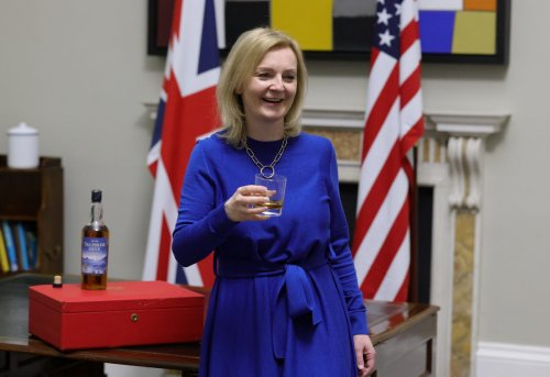 Liz Truss ignores security spat with France as she says UK is simply 'hard-headed'