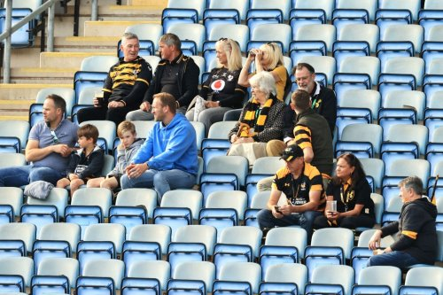 Premiership Rugby attendances fall by a quarter