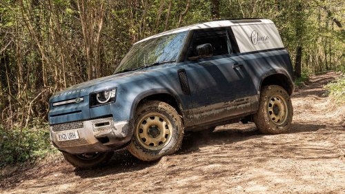 Land Rover Defender Hard Top review: the van that can