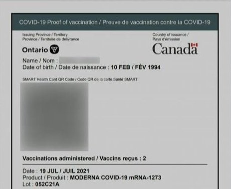 COVID-19 vaccine certificate app available to download, Premier Ford to reveal new details