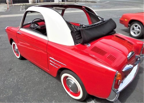 Pick of the Day: 1958 Autobianchi Bianchina Transformable from Italy