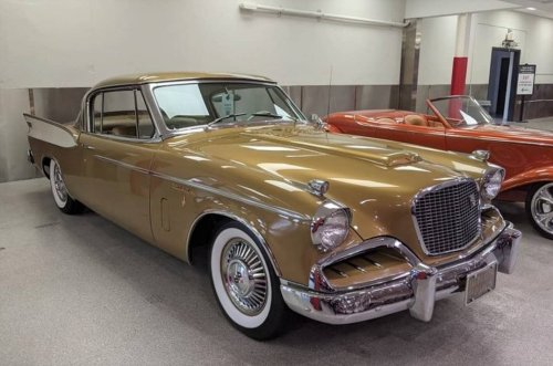 1957 Studebaker Golden Hawk owned by country star Conway Twitty highlights GAA's November auction