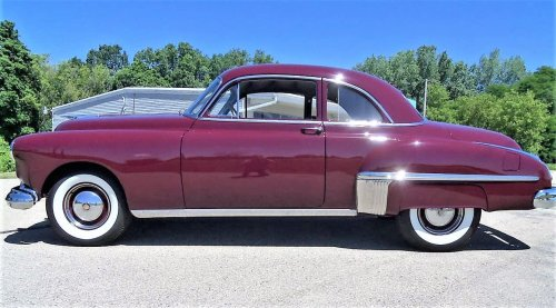 Pick of the Day: 1949 Oldsmobile 76 club coupe, restored and ready to go