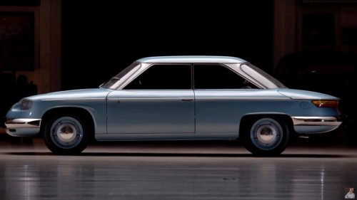 Jay Leno drives a quirky 1967 Panhard 24 BT