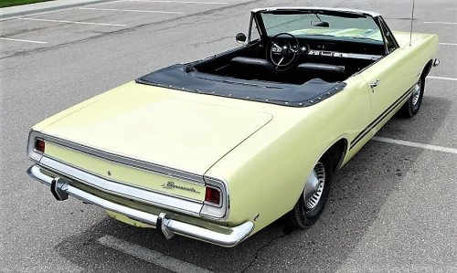 Pick of the Day: '68 Plymouth Barracuda convertible with pony car charm
