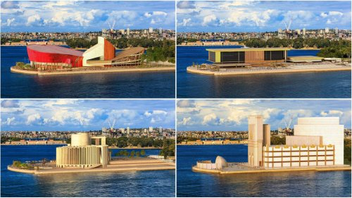 Rejected entries reveal what Sydney's iconic Opera House could have looked like