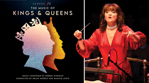 Debbie Wiseman's new album, The Music of Kings & Queens now available to pre-order