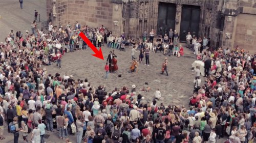 This Beethoven flashmob in a historic German city will remind you of the pure joy of music