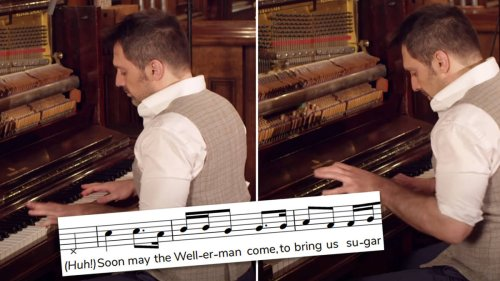 Pianist gives viral sea shanty 'The Wellerman' a ragtime spin and it's wonderful