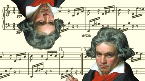 Someone inverted every single interval in Beethoven's Für Elise, and it sounds wild