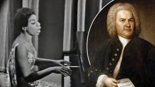 Nina Simone plays a stunning Bach-style fugue in the middle of one of her classic songs