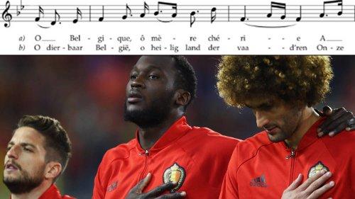 What are the lyrics to the national anthem of Belgium, 'La Brabançonne'?